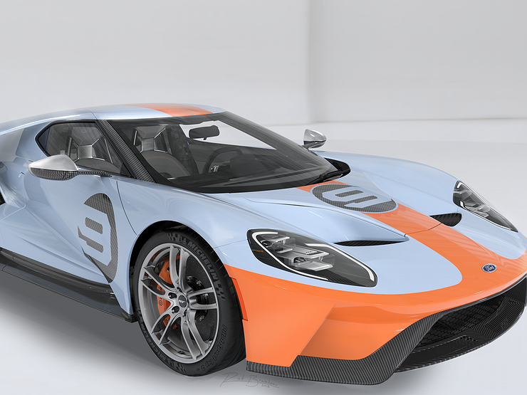 Ford представил новый суперкар GT в версии Heritage Edition 1