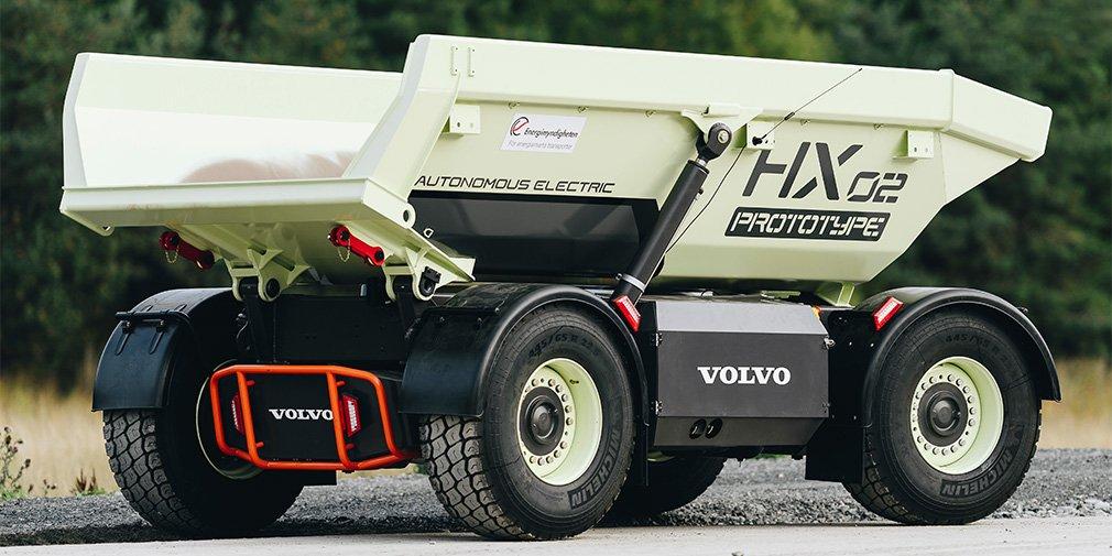 Volvo приступила к тестам беспилотных электрических самосвалов 1