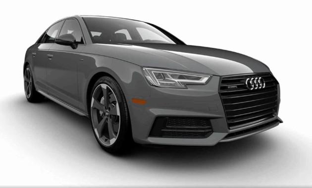 Audi A4 попрощается с «механикой» спецверсией 1