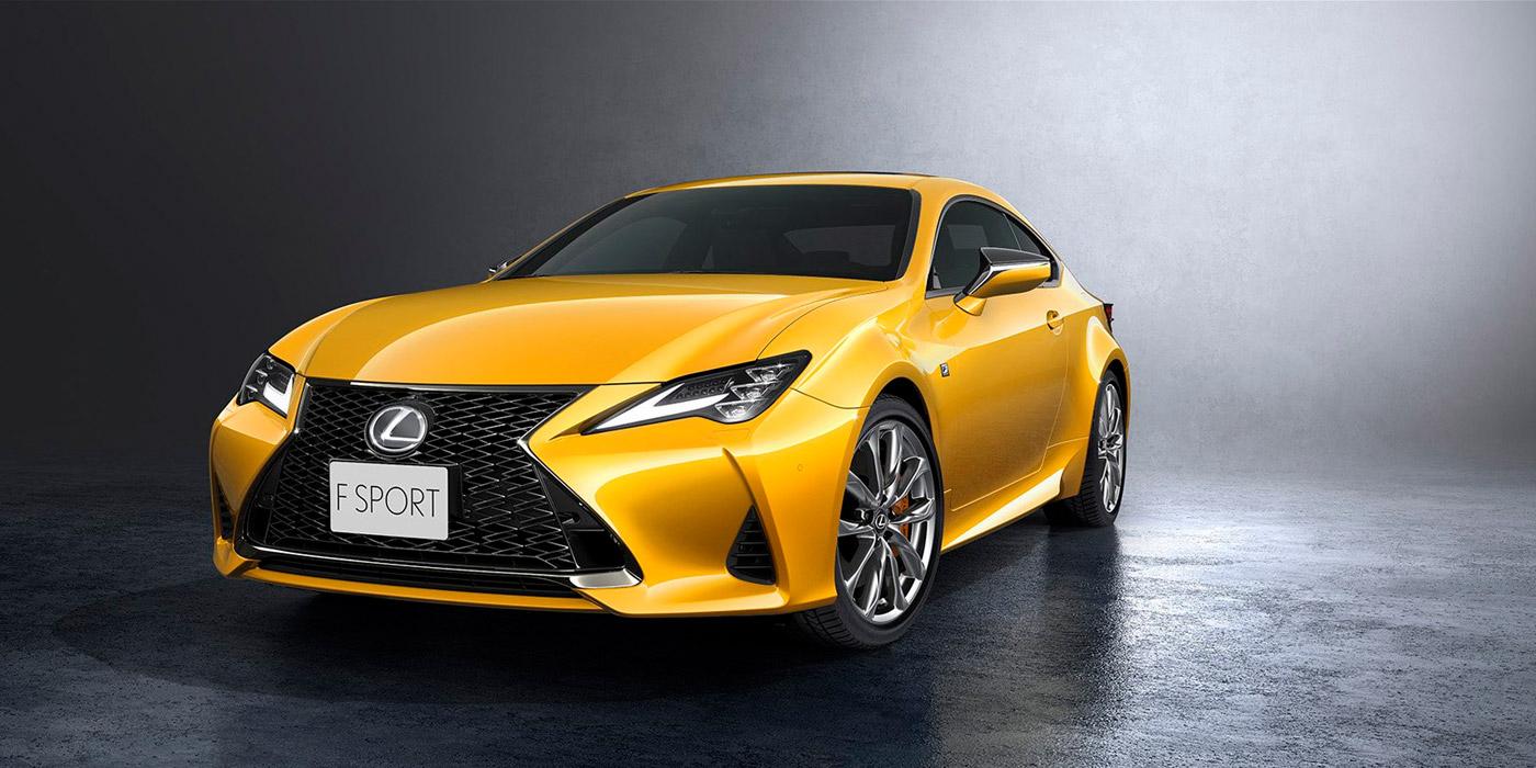 Lexus обновил купе RC 1