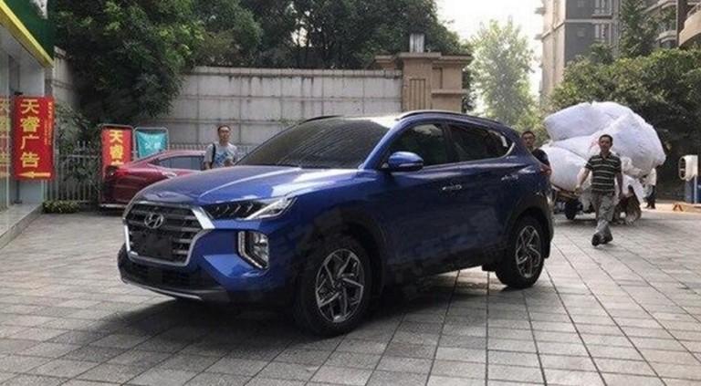 «Другой» Hyundai Tucson попался фотошпионам 1
