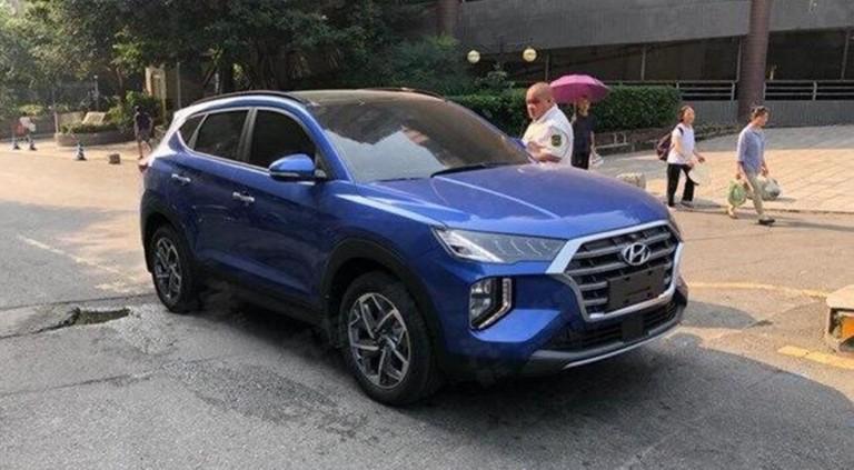 «Другой» Hyundai Tucson попался фотошпионам 2