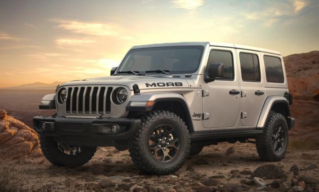 Новый Jeep Wrangler обзавелся версией Moab 1
