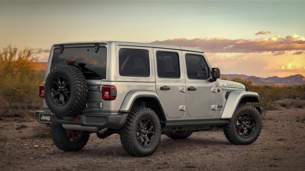 Новый Jeep Wrangler обзавелся версией Moab 2