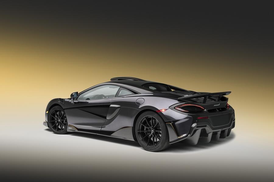 Спецверсию McLaren 600LT подготовили к Пеббл Бич 2