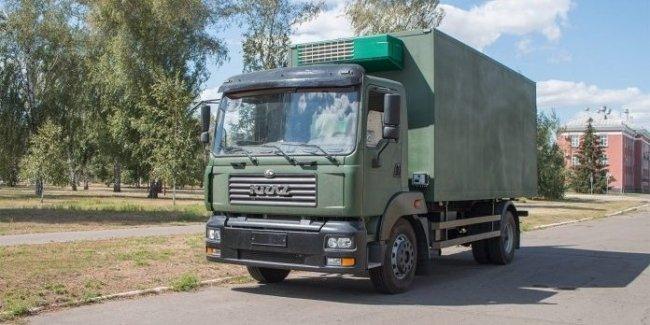 КрАЗ представил новую модель для военных 1