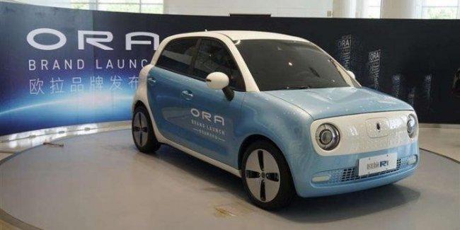 Китайцы презентовали новый бренд бюджетных электромобилей 1