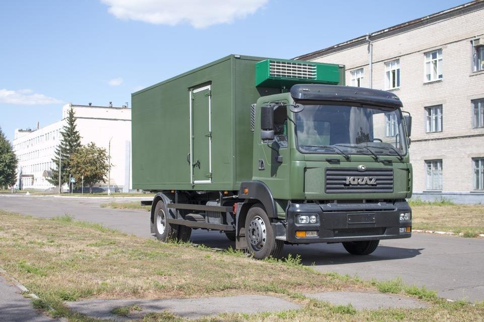 КрАЗ представил новую модель для военных 2