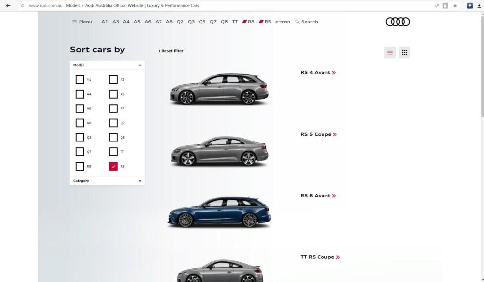 Volkswagen Group приостановил производство Audi RS 3 1