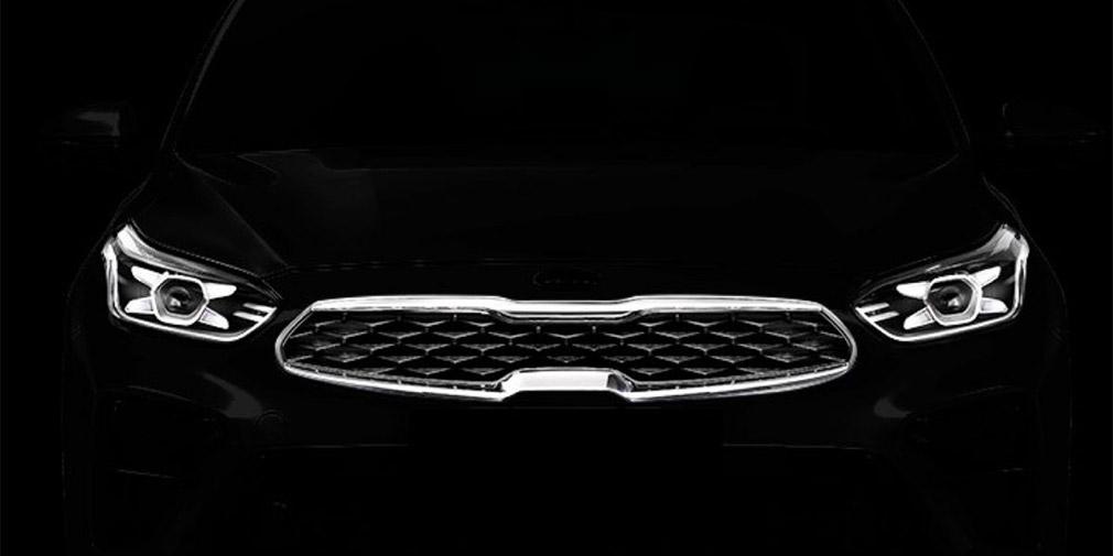 Опубликовано первое изображение спортивной модификации Kia Ceed 1