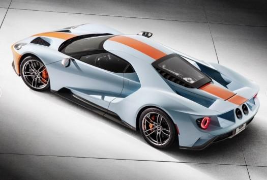 Ford вдохнул в суперкар GT шарм классической модели GT40 2