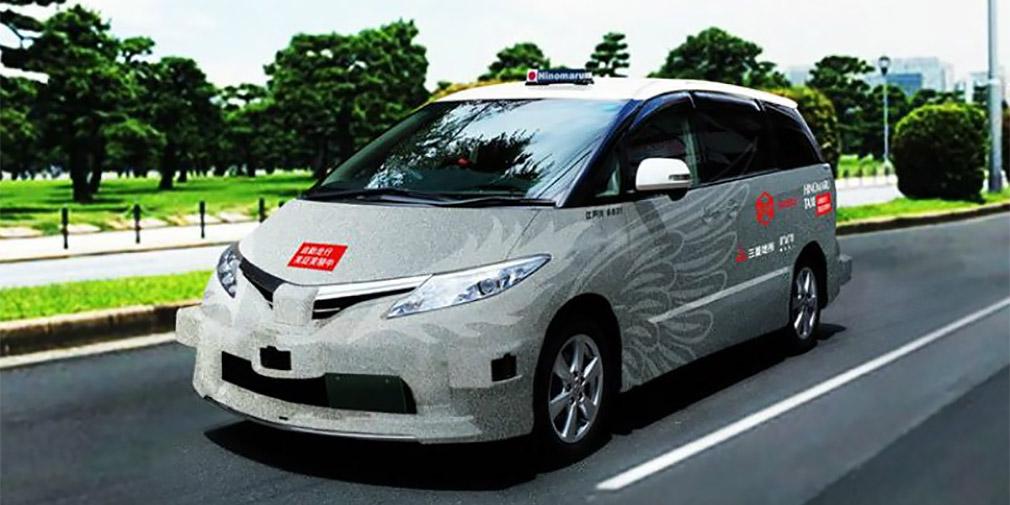 В Токио заработал сервис беспилотного такси 1