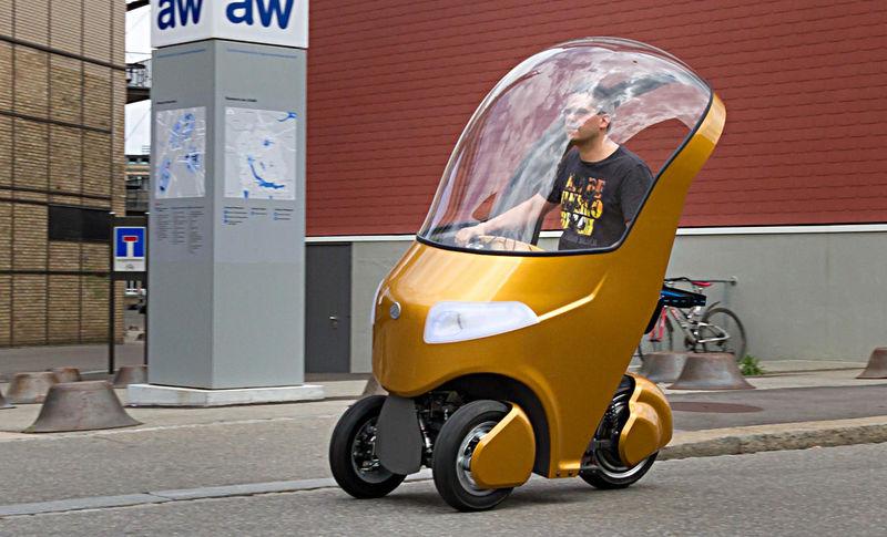 Студенты создали гибрид скутера, электрокара и велосипеда 1