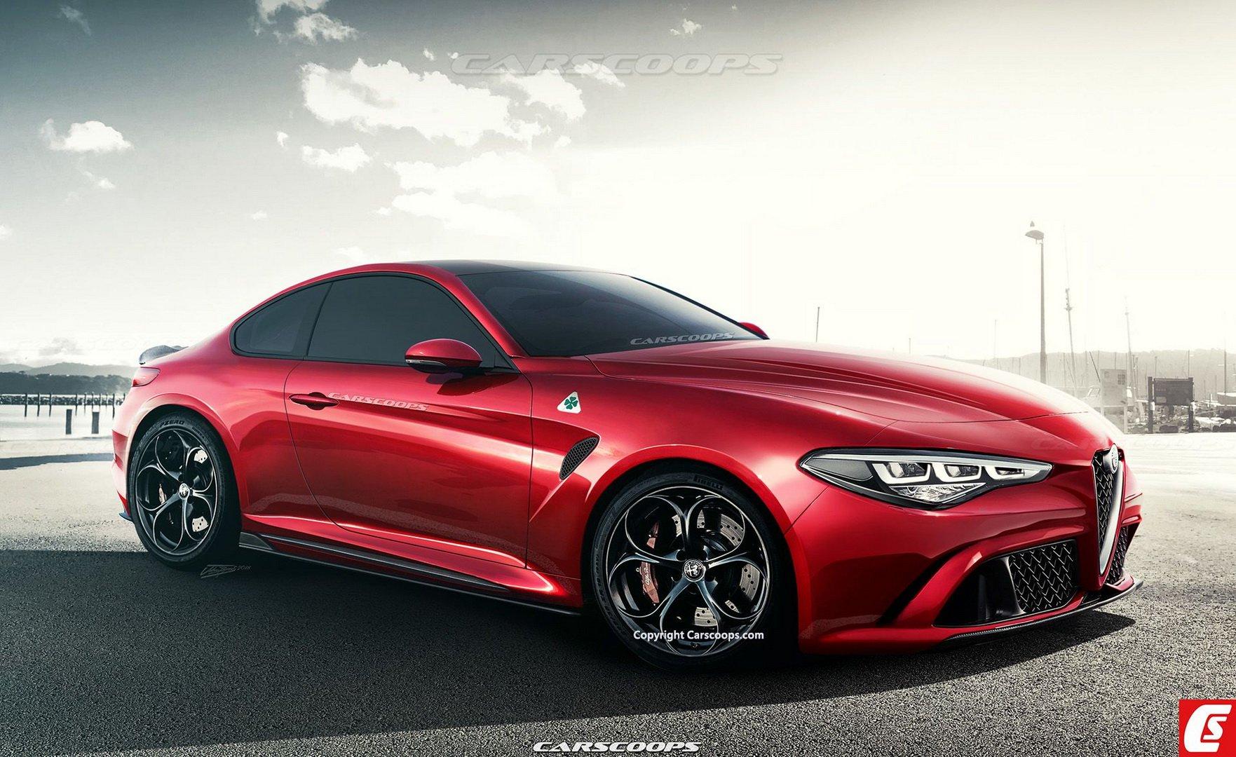 Гибридный суперкар Alfa Romeo GTV появится в 2021 году 1