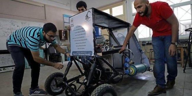 Египтяне создали «воздушный» эко-автомобиль 1