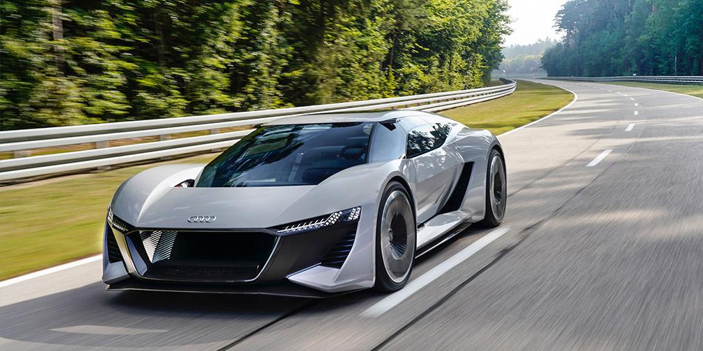 Audi показала предвестника нового суперкара 2