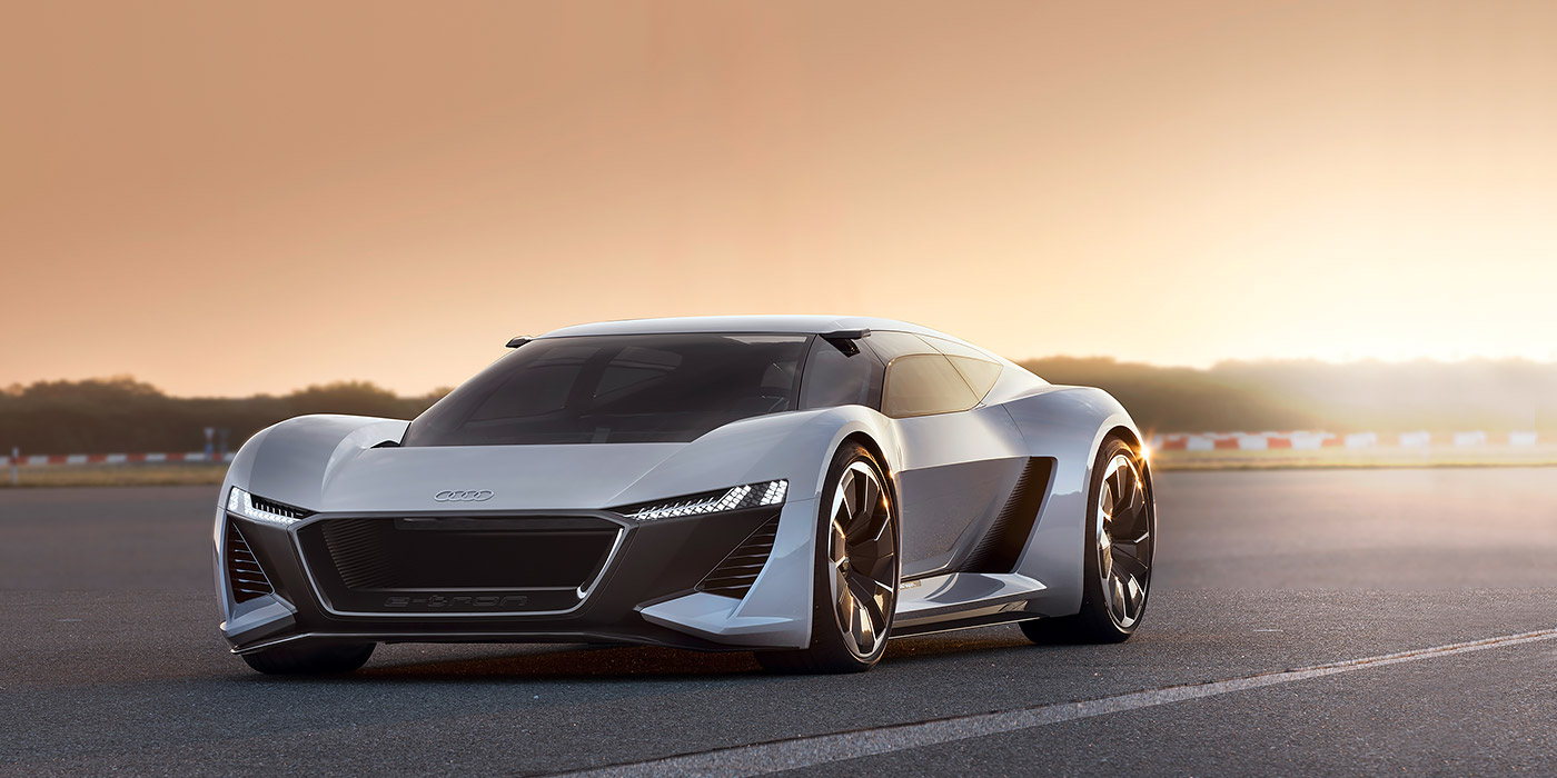 Audi показала предвестника нового суперкара 4