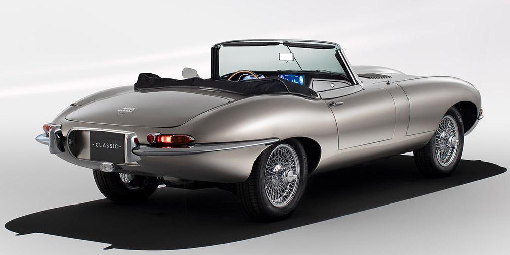 Jaguar начнет производство электрокаров в кузове от E-Type 1