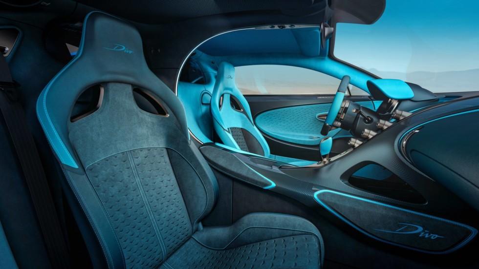 Bugatti Divo – более горячая альтернатива Chiron 1
