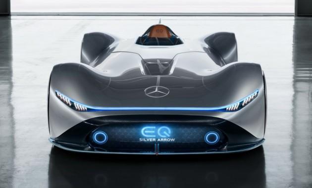 Mercedes-Benz построил 740-сильную «Серебрянную стрелу» 1