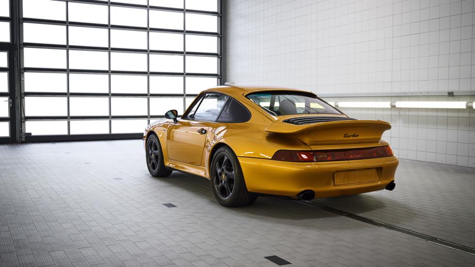 Porsche Project Gold: рестомоду запрещен выезд на дороги общего пользования 2