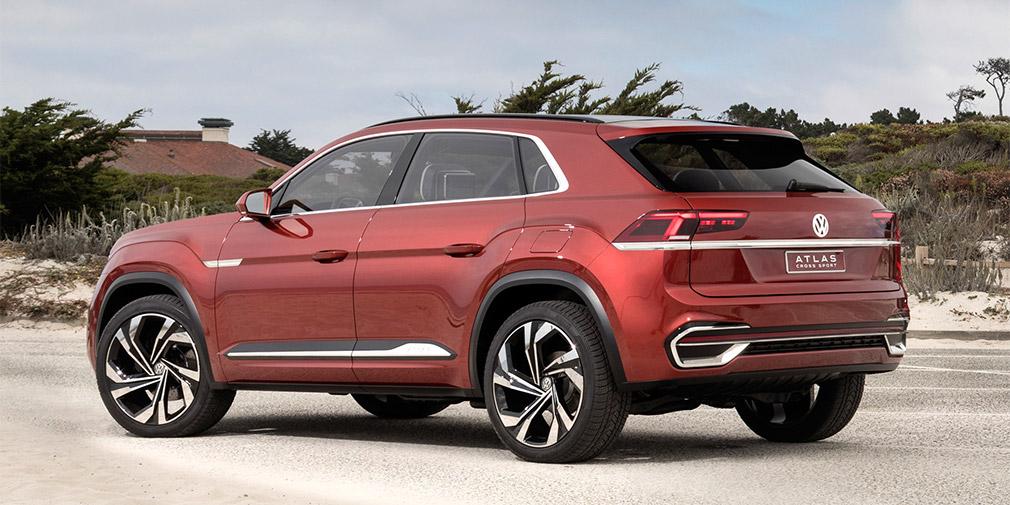Volkswagen представил новый кроссовер Atlas Cross Sport 2