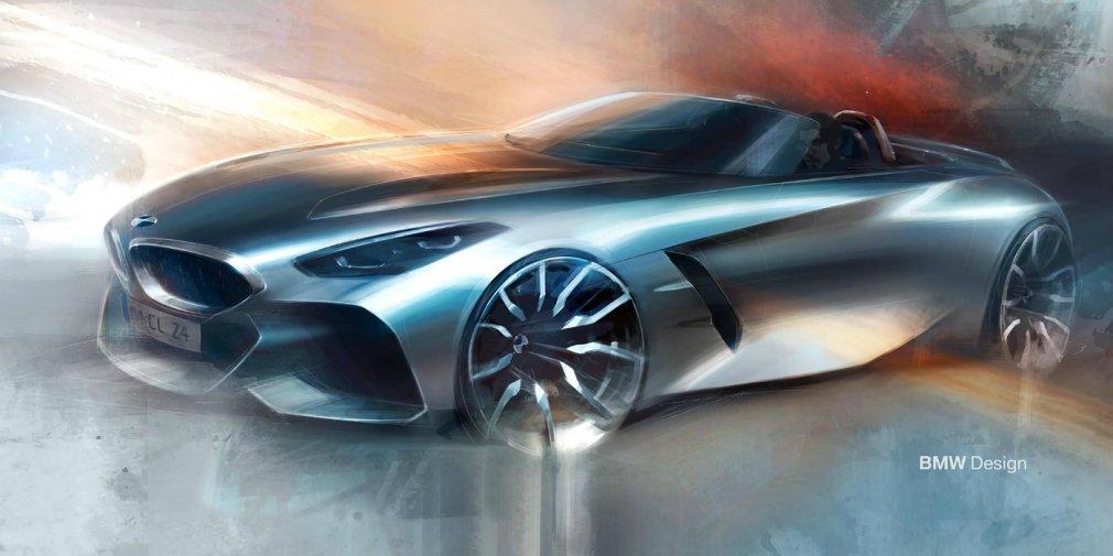BMW анонсировала премьеру нового родстера Z4 1