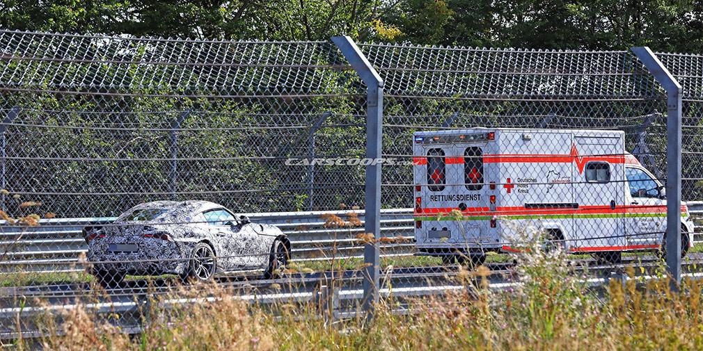 Возрожденная Toyota Supra прошла «случайный» краш-тест 1