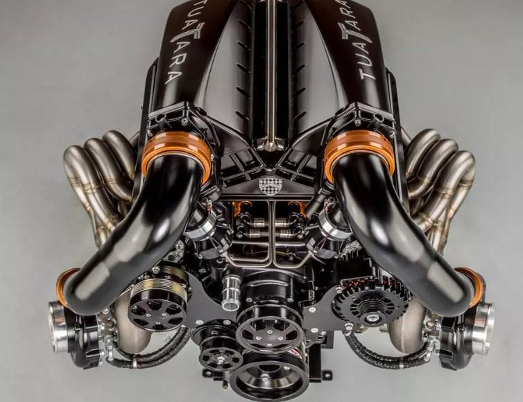 Американцы показали мотор гиперкара-ящера 1