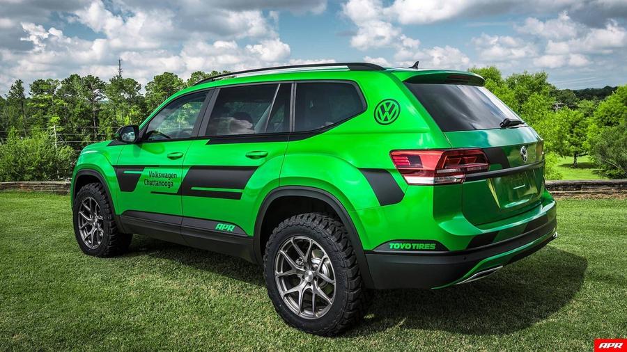 Американские тюнеры сделали Volkswagen Atlas 350-сильным 2