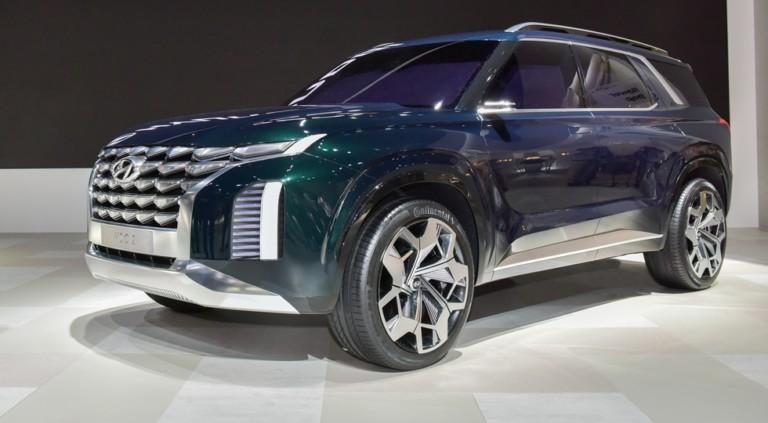 Hyundai может выпустить конкурента Toyota Land Cruiser 200 1