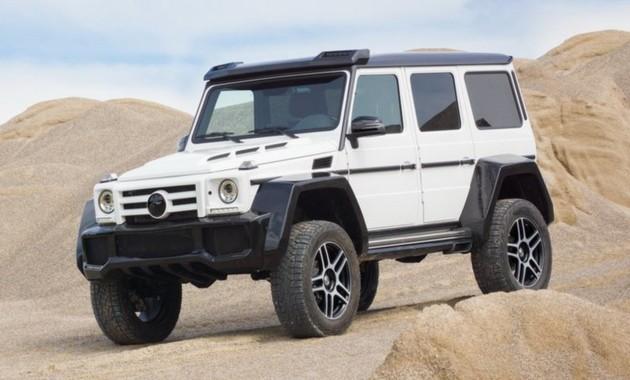 Ателье Fab Design поработало над Mercedes-Benz G500 1
