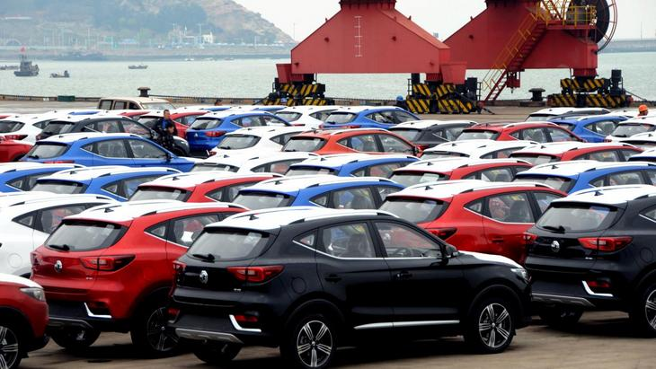 Китай рекордными темпами наращивает импорт автомобилей 1
