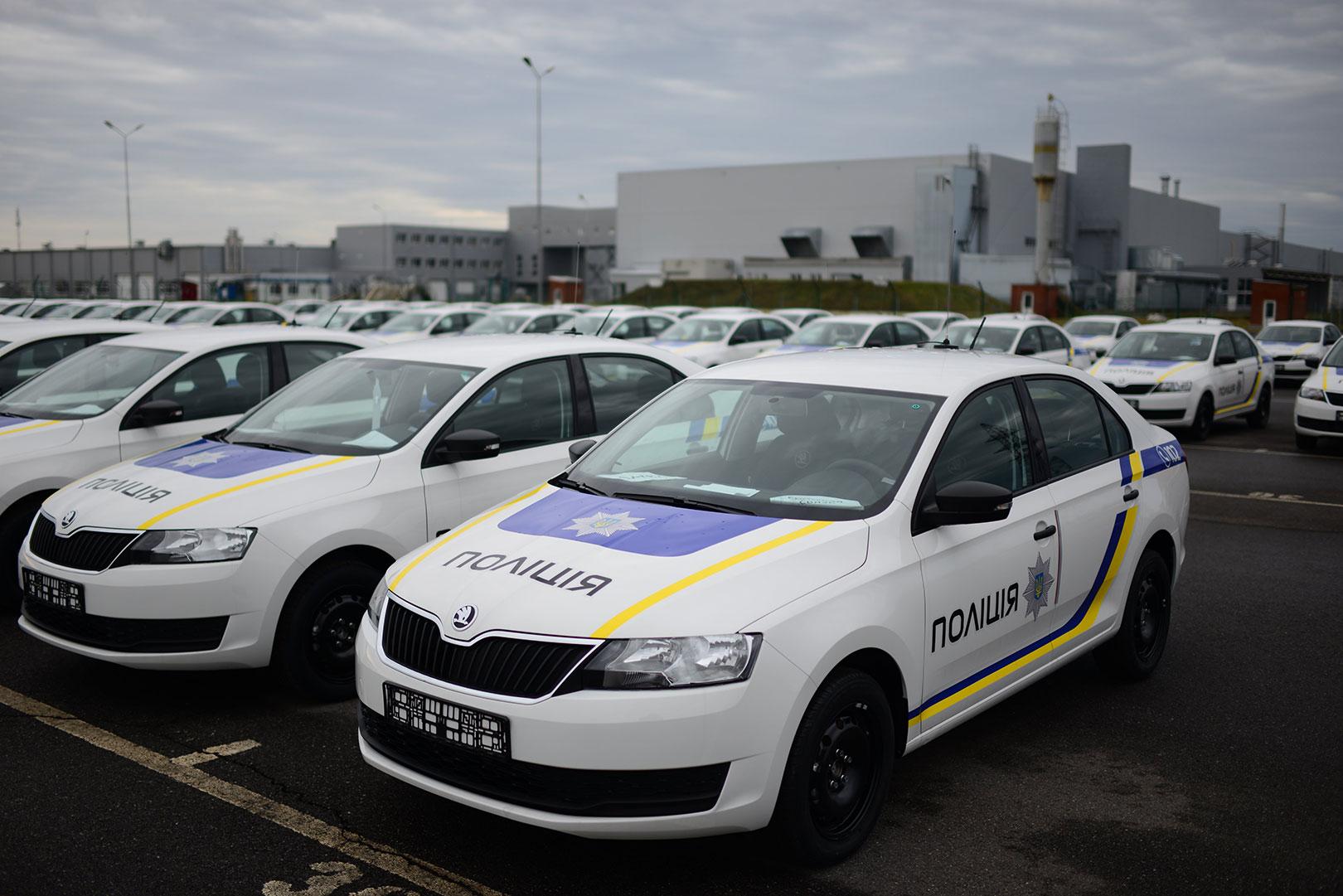 Нацполиция получит две сотни новых автомобилей 1