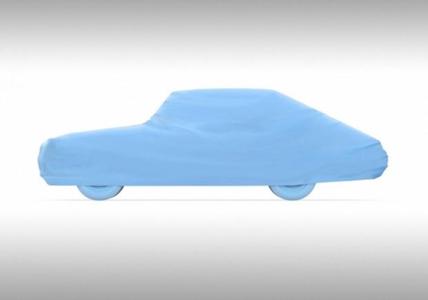 Революционный автодизайн 50-х воплотили в макете машины 65 лет спустя 1