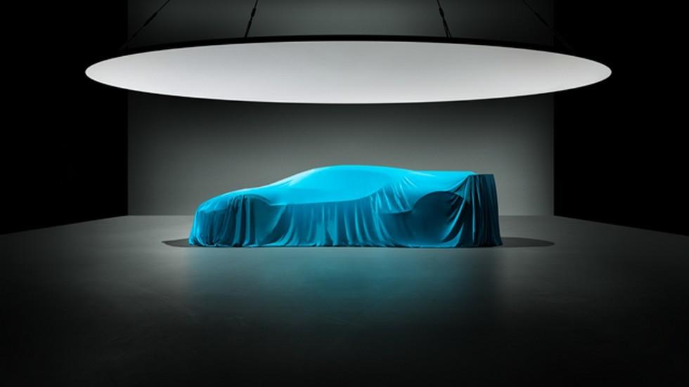 Bugatti Divo интригует силуэтом в новом тизере 1