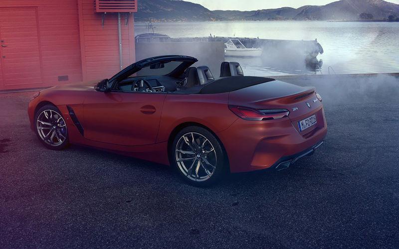 Облик BMW Z4 раскрыли до премьеры 3