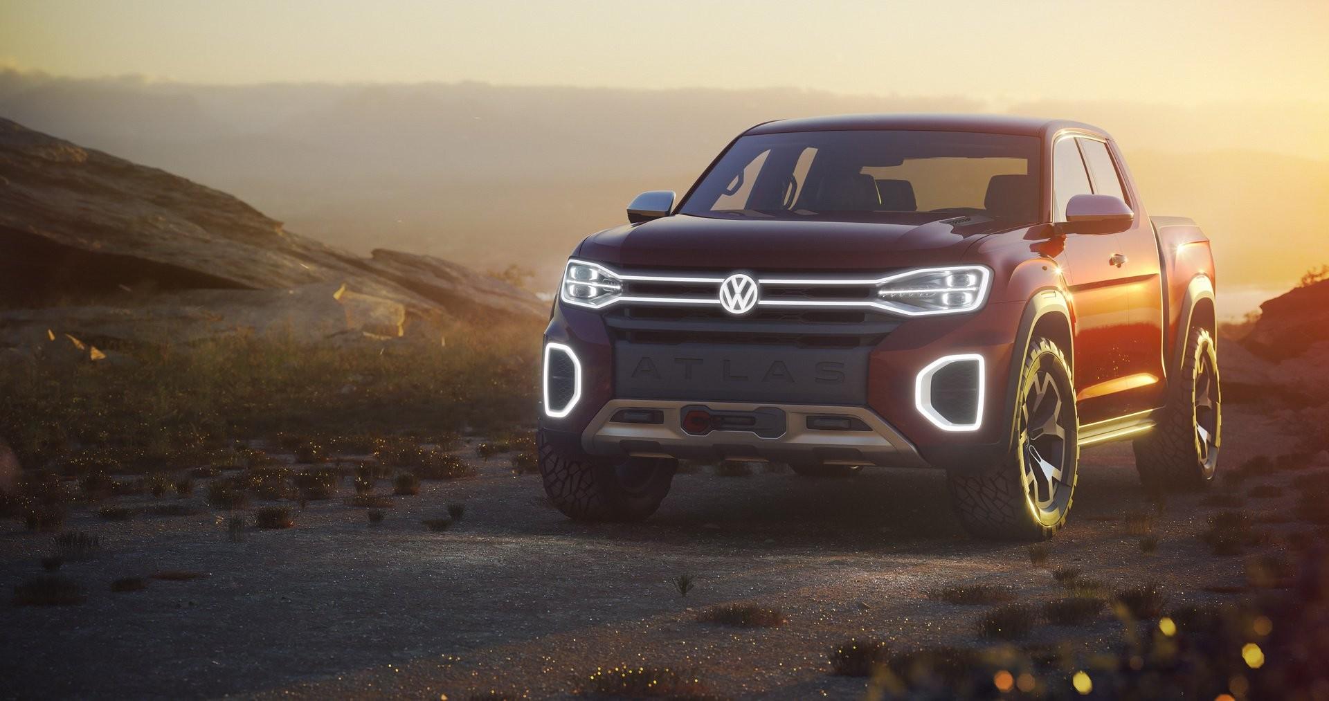 VW сомневается, выпускать ли пикап Atlas Tanoak 2