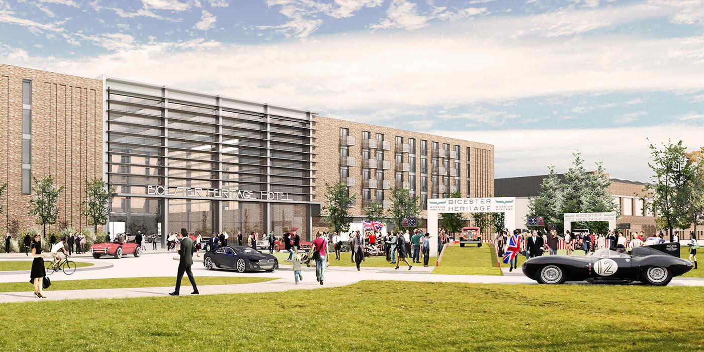 В Великобритании откроют первый в мире автомобильный курорт 1