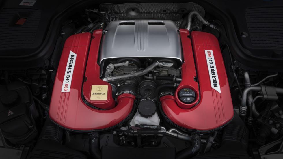 Mercedes-AMG GLC 63 S получил от Brabus больше мощности и карбона 3