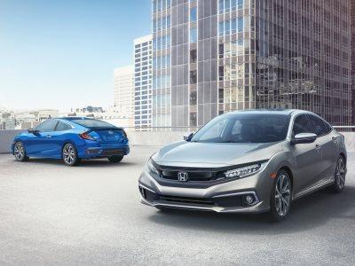 Новую Honda Civic рассекретили в США 1