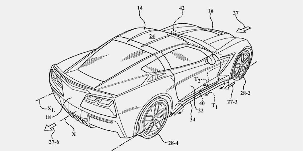 Chevrolet Corvette получит активную аэродинамику 1