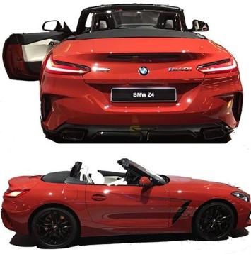 Рассекречен внешний облик нового BMW Z4 2