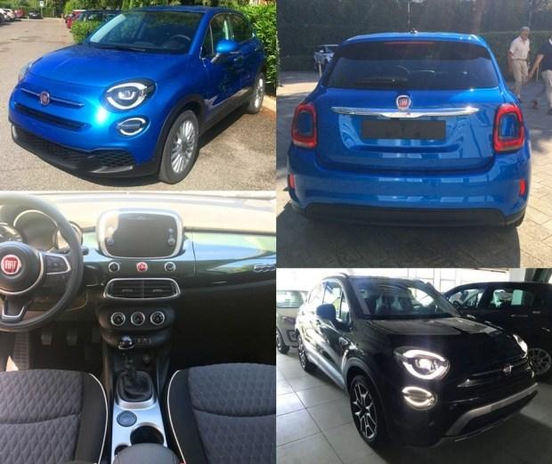 Обновлённый паркетник Fiat 500X рассекретели до премьеры 1