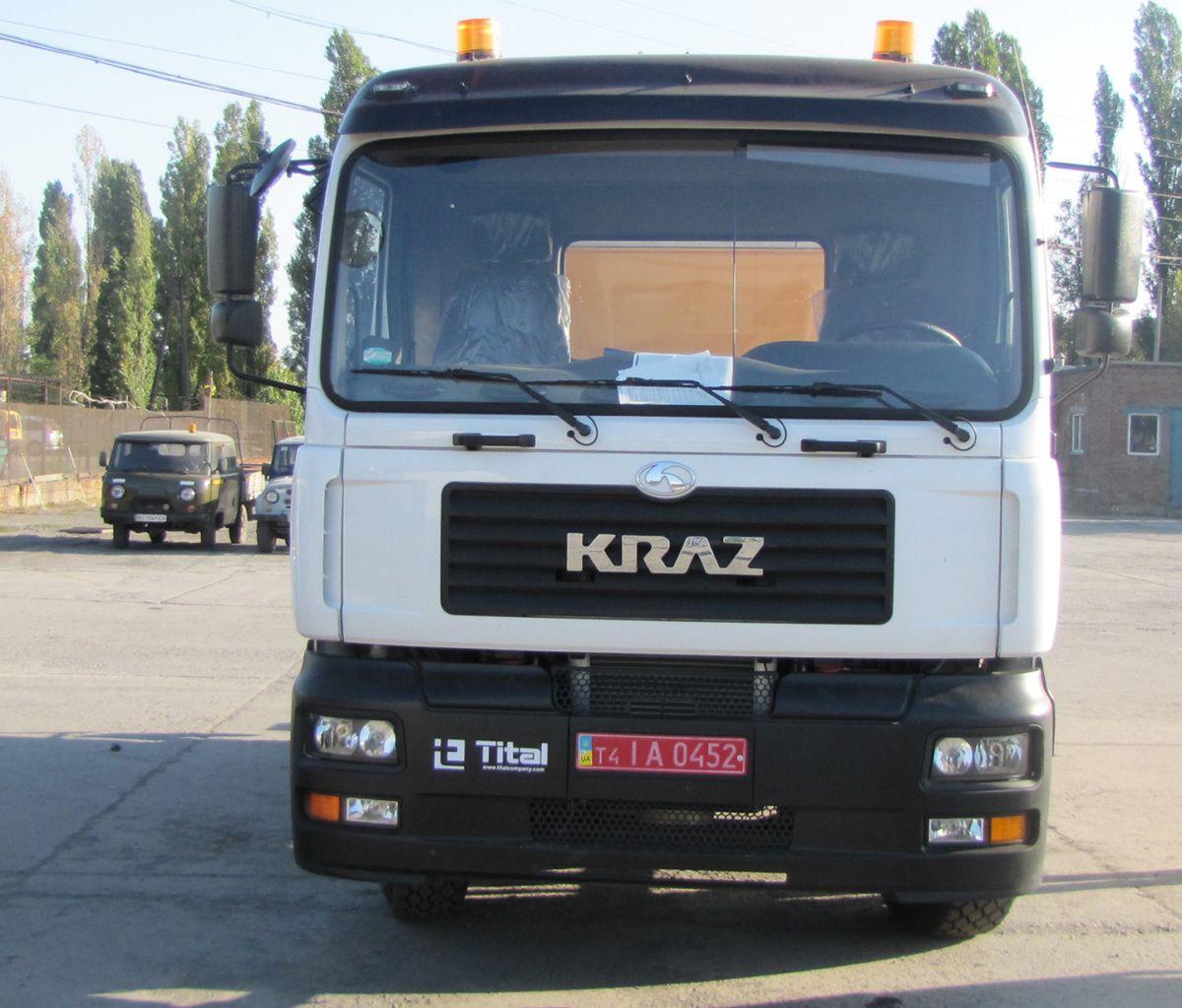 КрАЗ выпустил эксклюзивный спецавтомобиль 1