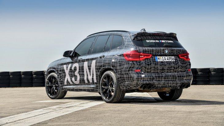 BMW показала прототипы горячих кроссоверов X3 M и X4 M 1