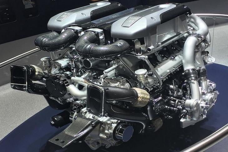 Двигатель Bugatti W16 получит еще больше мощности 1