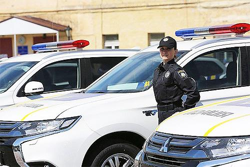 Украинская полиция получит большую партию новых внедорожников 1