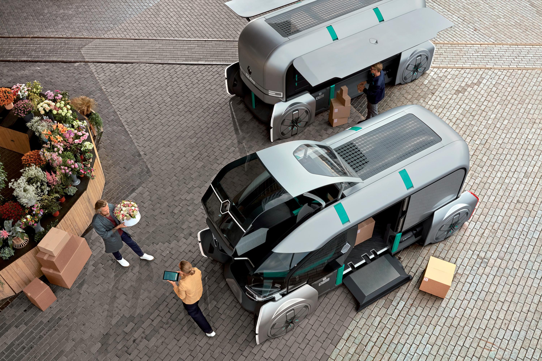 Renault придумала робомодули для доставки грузов 1