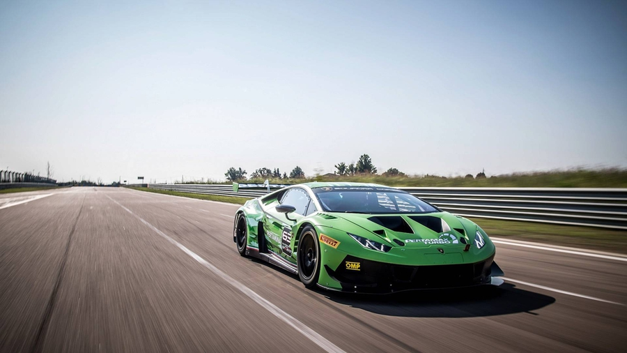 Lamborghini представила обновленное купе Huracan GT3 Evo 1